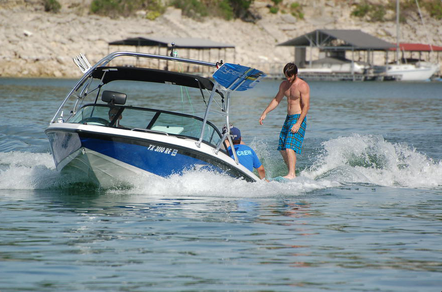 Lake Austin Jet Ski Rentals Knee Compression Brace